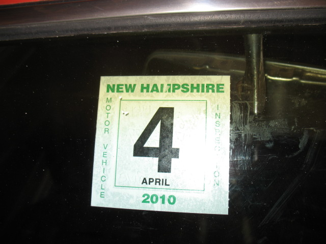 Nh State Inspection Changed For Antiques The H A M B